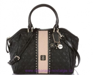 Kabelka GUESS Miss Social Uptown Satchel black